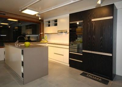 Agencement de cuisine avec granit silstone