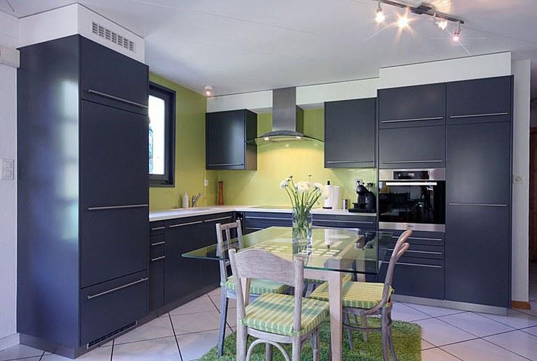Rénovation d'une cuisine en laque