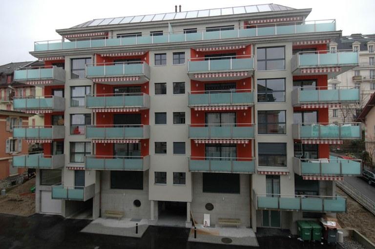 Fenêtre bois métal Tonnelles Lausanne