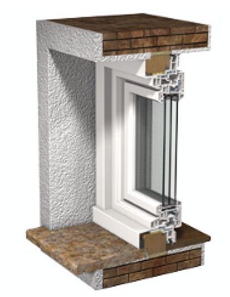 Fenêtre PVC cadre rénovation