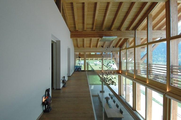 Fenêtres bois en mélèze