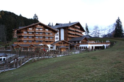 Fenetre bois Royalp Villars-sur-Ollon
