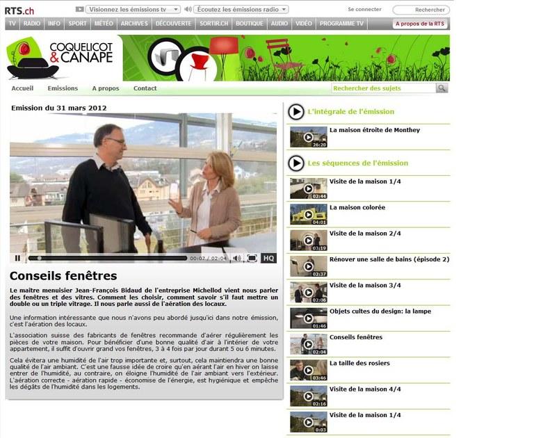 Image de émission RTS