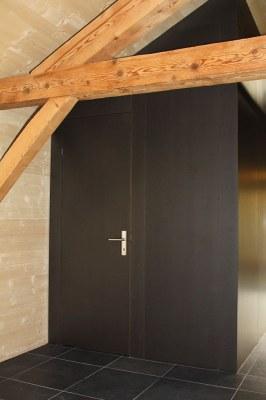 Porte intérieure affleurée en MDF